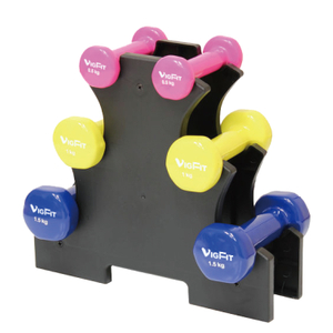 China Certificated Portable 6/12KG Dumbbell Set Vigor - DBS-D-002