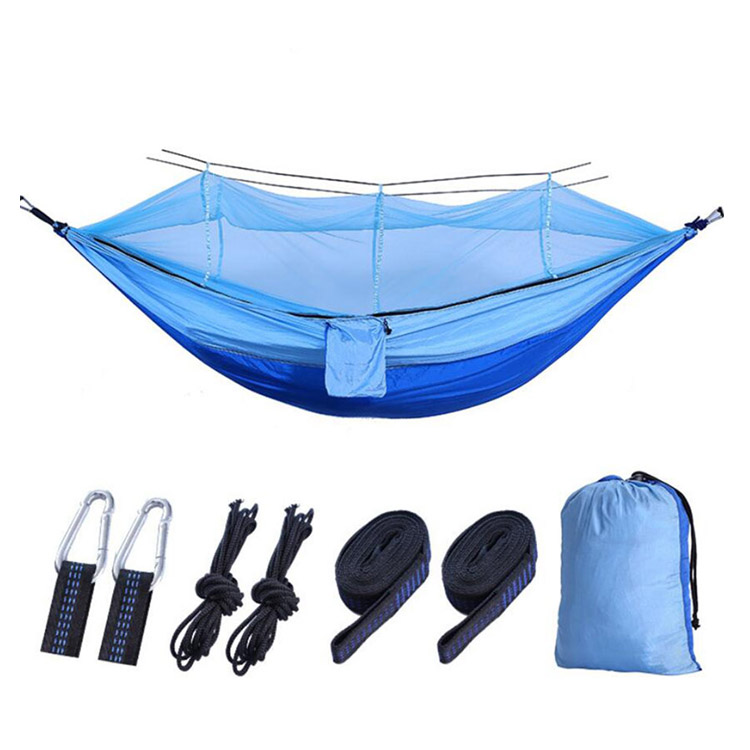 Ultralight Outdoor Camping Hunting Mosquito Net Parachute Hammock Hanging Bed MH-001 -Vigor