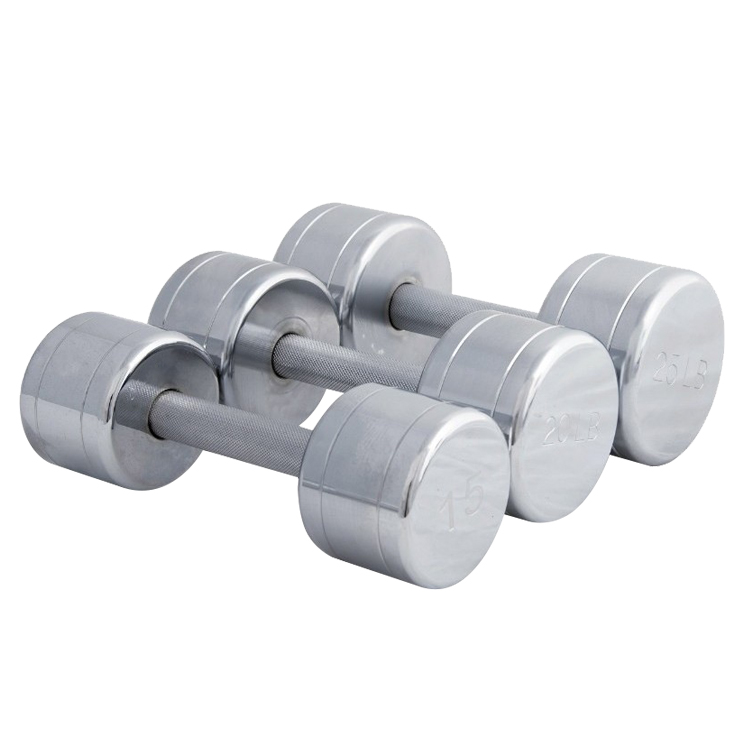 China Strength-training Chromed Steel Dumbbell Sets at Best Prices Vigor - DB-S-201